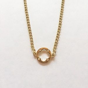 ✨Gold necklace ✨ Simple design.